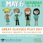 Great Glasses Play Day at Moses Brown School Playground