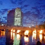 WaterFire Providence: Flames of Hope a Celebration of Life Full Lighting