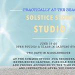 Solstice Studio: Carving Stone at The Summer Studio