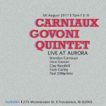 Jazz Revelations: The Carniaux Govoni Quintet