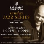 Carolyn's Sakonnet Vineyard Sunday Jazz Series