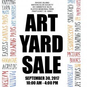 RIWS Art Yard Sale