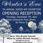 7th Annual Art Exhibit - Winter's Eve Opening Reception