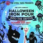 Halloween Iron Pour 2017