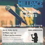 Millrace Kitchen Open Mic Night Series