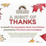 The Home Loan Foundation 6th Annual Assumption Parish Food Ministry Fundraiser