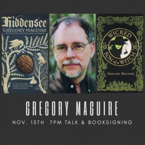 Author Gregory Maguire Talk & Book Signing: A Tale of the Once and Future Nutcracker