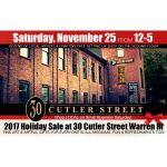 30 Cutler Street Holiday Sale