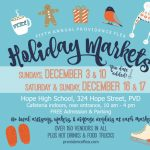 Providence Flea 5th Annual Holiday Markets!