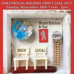 Chez Pascal Holiday Craft Sale