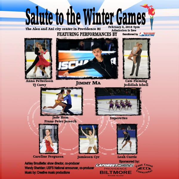 A Salute to the XXIII Winter Games presented by Pawtucket