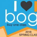 2018 Spring Classes