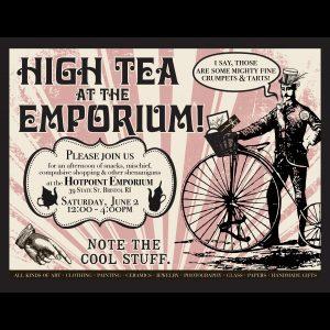 High Tea At The Emporium