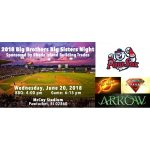 Big Brothers Big Sisters Night at McCoy Stadium