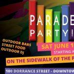 Pride Parade Party