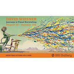 David Wiesner: Journeys in Virtual Storytelling