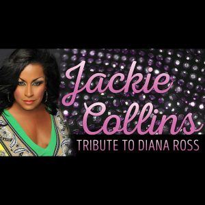 Jackie Collins in a Tribute to Diana Ross