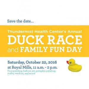 Annual Duck Race and Family Fun Day