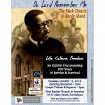 Do Lord Remember Me: The Black Church In Rhode Island