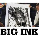 BIG INK Woodcut Printing Demo