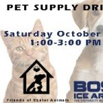 Boss Ice Arena Pet Supply Drive