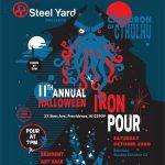 11th Annual Halloween Iron Pour