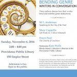 Bending Genre: Writers in Conversation