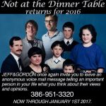 Not at the Dinner Table