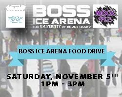 Boss Ice Arena Food Drive