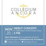 Collegium Ancora: Debut Concert