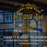 NYE Prix Fixe Dinner at Garde at the ProvidenceG