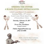 Opening the Oyster: A Black Culinary Arts Extravaganza