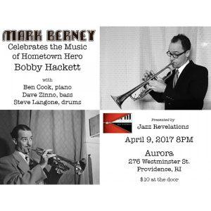 Jazz Revelations: Mark Berney Quartet celebrates Bobby Hackett