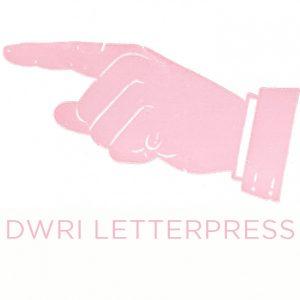 DWRI LETTERPRESS