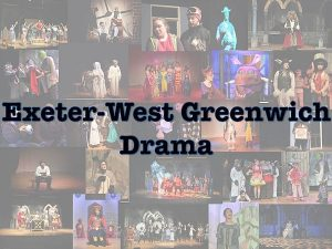 Exeter-West Greenwich Drama (EWG Drama)